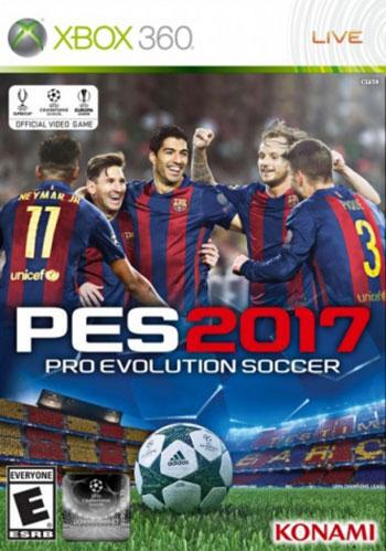 تحميل لعبة  Pro Evolution Soccer 2017 XBOX360 PAL -COMPLEX