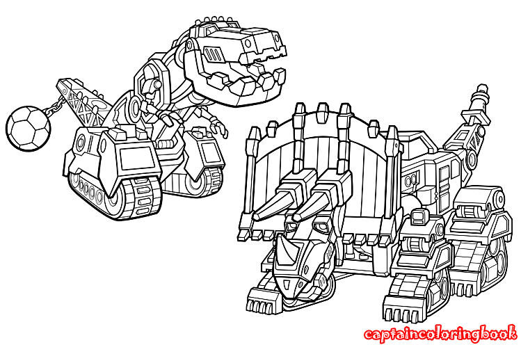 Dinotrux Coloring Pages Printable Coloring Page