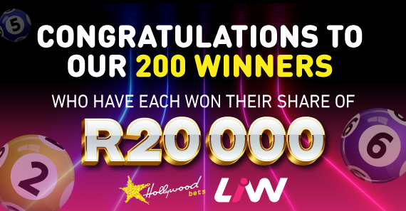 Live Instant Win Promotion Winners