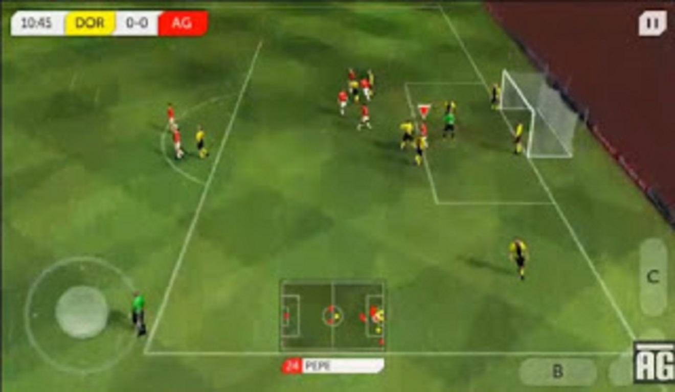 game soccer footbal android ringan