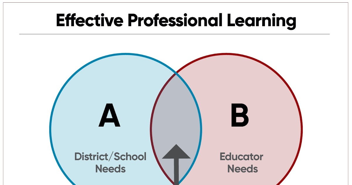 A Principal's Reflections: The Professional Learning Sweet Spot