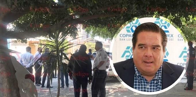 ¡Ejecutaron al dirigente de COPARMEX en San Luis Potosí!