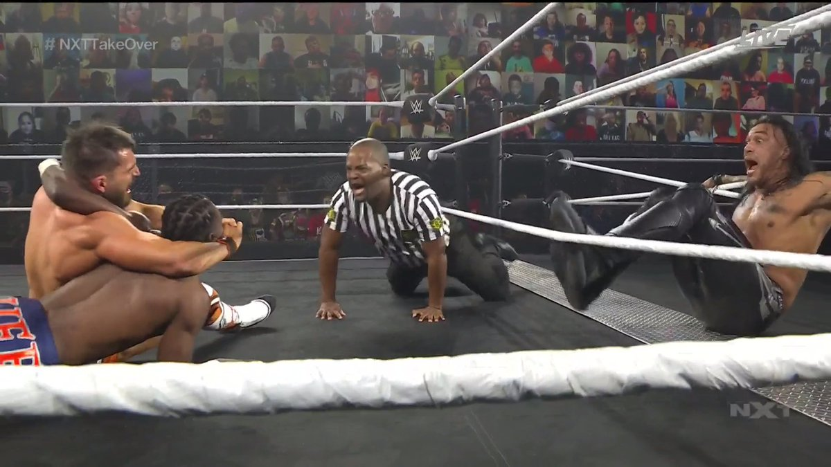 Novo NXT North American Champion é coroado no NXT TakeOver: WarGames