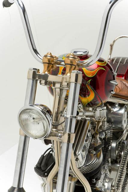 Harley Davidson By Paul Cox Industries Hell Kustom