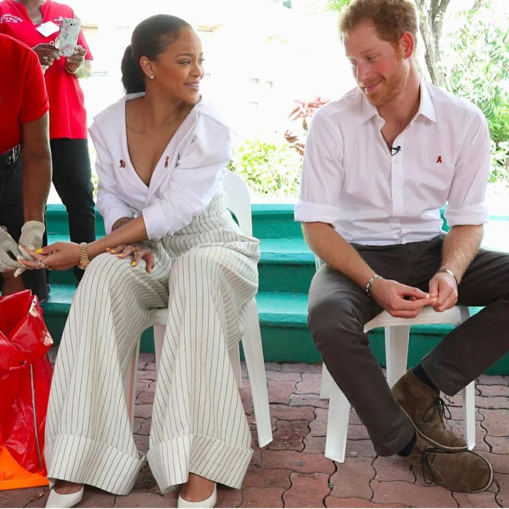 PICHA: Prince Harry Anapenda Wanawake Wenye Ngozi Nyeusi..Tazama Picha Zinaongea