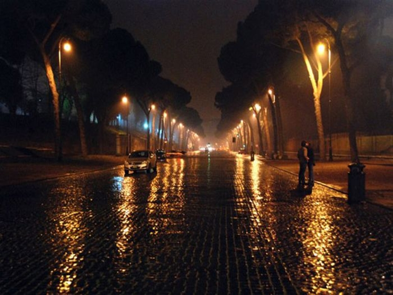 romantic rainy wallpaper-#15
