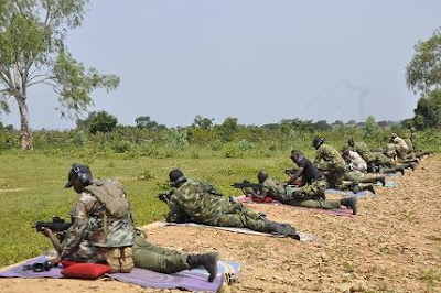 Nigerian Air Force Cadets Undergo Shooting Exercise In Kaduna State. Photos