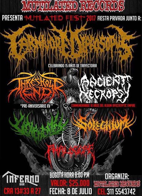 Las mejores bandas del metal Colombiano