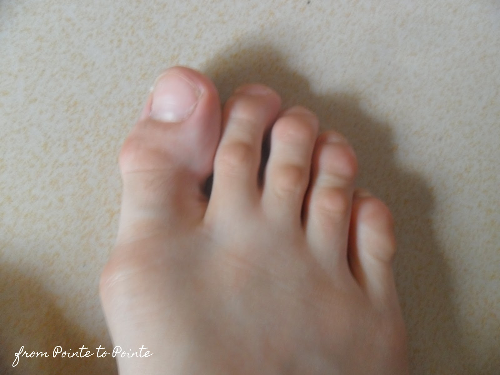 VA41 My First Pair Of Pointe Shoes