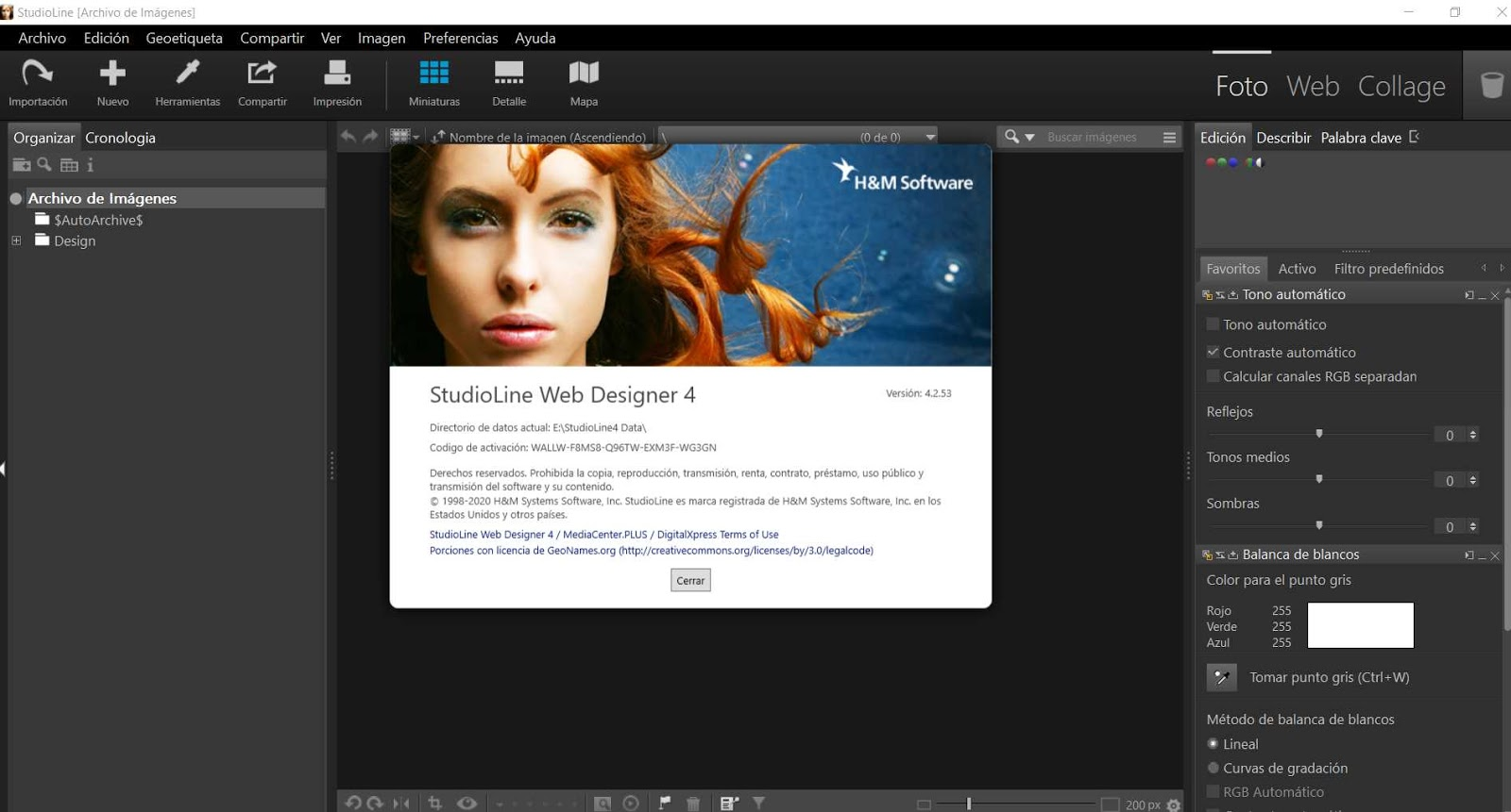 StudioLine Web Designer 4.2.53 poster box cover