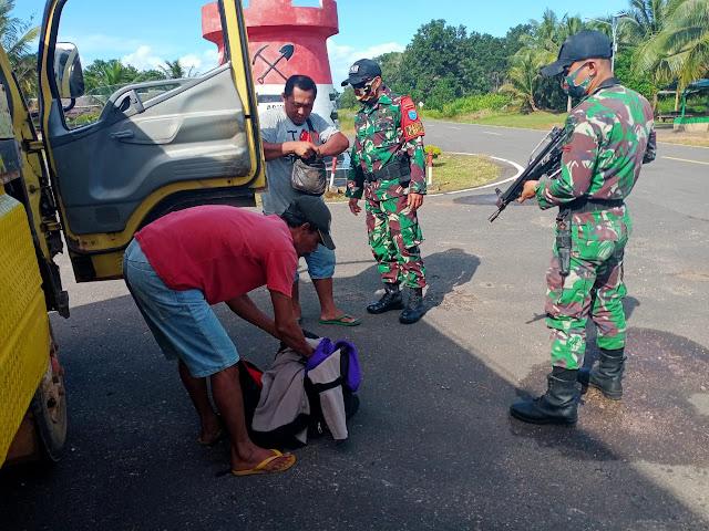 Tidak Ingin Kenyamanan dan Keamanan Warga Terganggu Menjelang Natal dan Tahun Baru, Satgas Yonif 642 Kapuas Gencar Laksanakan Sweeping di Perbatasan