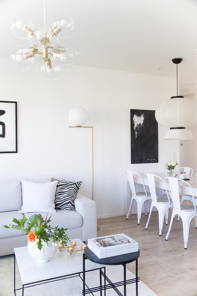 Villa h, olohuone, ruokailutila, sisutusinsiraatio, klassinen koti, moderni sisustus