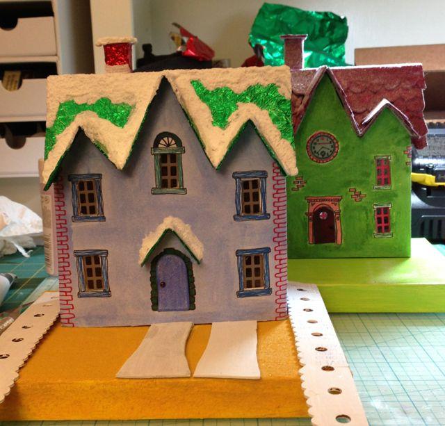 Tiny Home Designs: Paper Glitter Glue