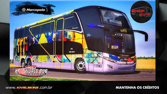 PARADISO G7 1800 DD 6X2 - VIAÇÃO UTIL ABSTRACIONISMO