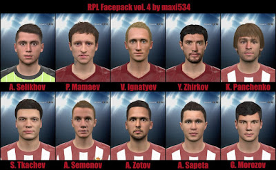 PES 2016 RPL Facepack Vol. 4 by maxi534