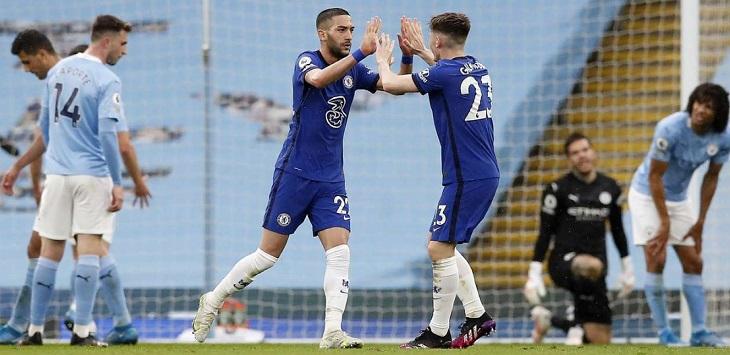 Di Kandang, Manchester City Kalah 1-2 dari Chelsea