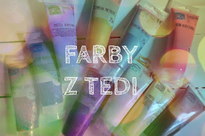 Farby z TEDi | Akryle, metaliczne, konfetti