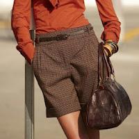Pantaloni scurti cu mansete femei 34 - 48