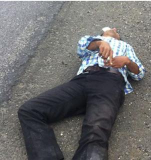 Encuentran hombre golpeado en carretera Coatzacoalcos-Minatitlán