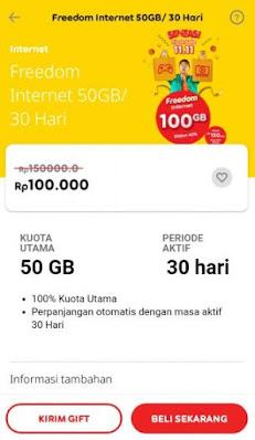 Cara Mengaktifkan Paket Internet Indosat Murah 100 Ribu 50 GB