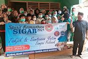 LSM SIGAB Mitra PPWI Bersama AMPD DKI dan Pewarta Tambora Gelar Santunan Anak Yatim Piatu di Bonjer