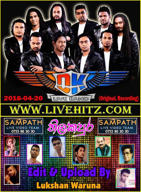MG WITH OK LIVE IN THILAKAPURA 2016-04-20