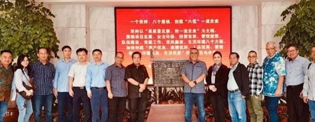 Kunjungan Kerja Bupati Muara Enim Ke China, Memenuhi Undangan PT. Huadian Bukit Asam