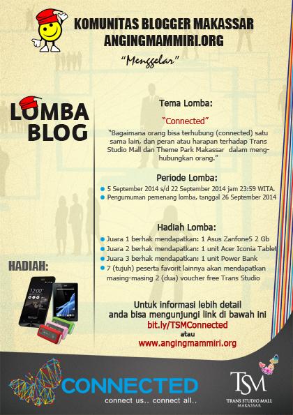 http://angingmammiri.org/2014/09/lomba-blog-connected-trans-studio-makassar/