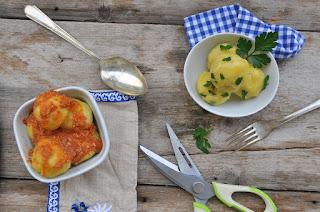 Thermomix German Potato dumplings