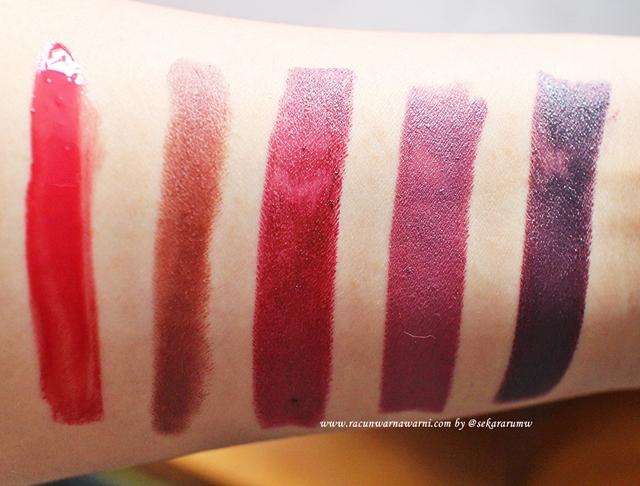 Swatch Vampy Lipstick