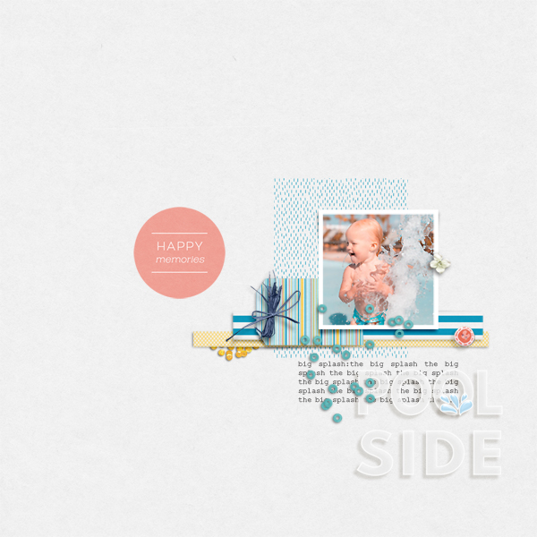 poolside © sylvia • sro 2019 • poolside collab by dunia designs & designed by soco | simply clean no 6 by designed by soco