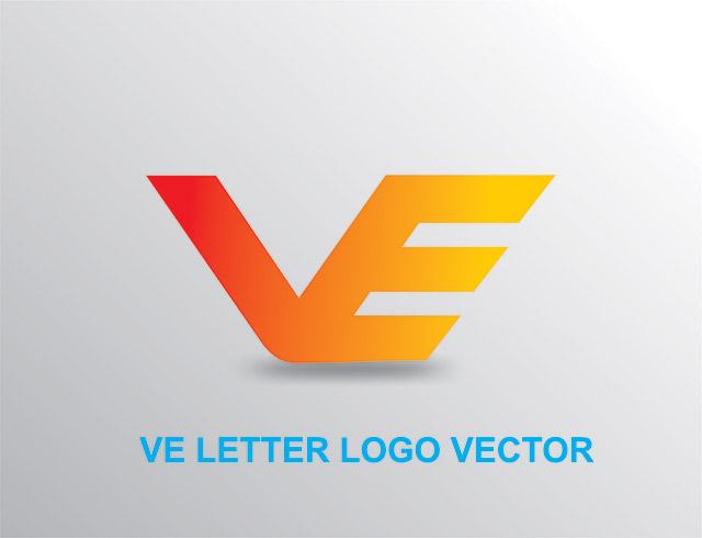 VE-Letter-Logo-Design-Vector-Free-Vector-Image-Cdr-file-Download