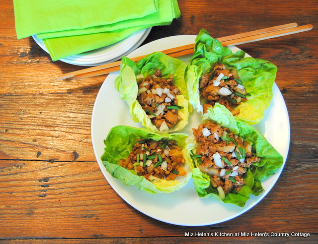 Asian Lettuce Wraps at Miz Helen's Country Cottage