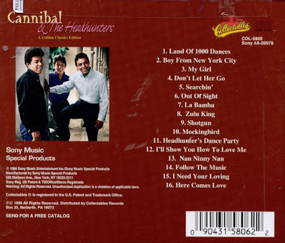 Cannibal & The Headhunters - Golden Classics Edition