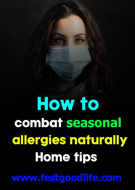 combat seasonal allergies
