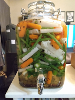 Lacto-fermented vegetable pickles