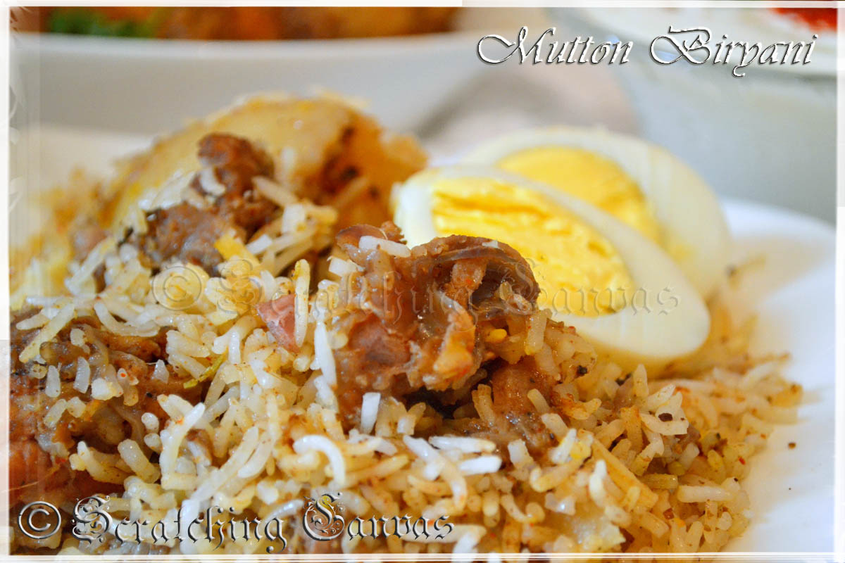 Kolkata Style Mutton Biryani Step By Step Recipe
