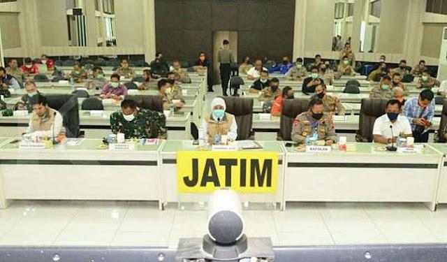 Surabaya Raya Resmi Diberlakukan Masa Transisi menuju New Normal hingga 14 Hari