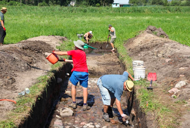 Medieval castle discovered in Poland's Żelechów
