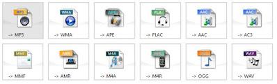 cara convert file audio video offline menggunakan format factory - audio format