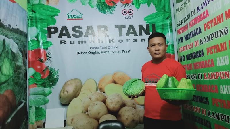 Kebutuhan Sayur di Bulan Ramadhan Percayakan di Pasar Tani Rumah Koran