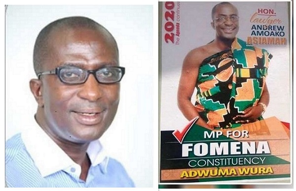 An Open Letter To Hon Andrew Asiamoah Amoako, MP For Fomena