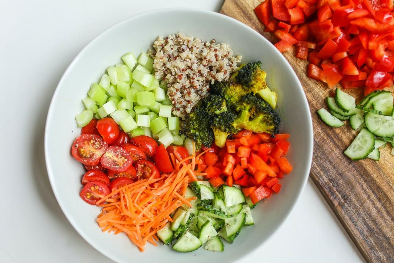 Moroccan salad for occasions