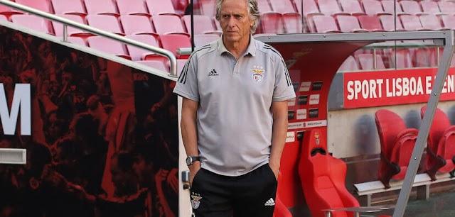 Presidente do Benfica atua nos bastidores para Jorge Jesus pedir demissão