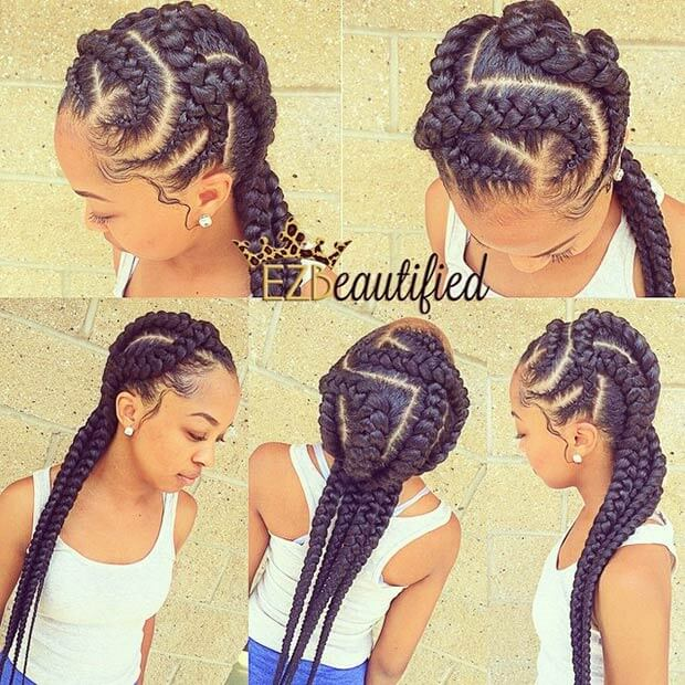 22 Best African American Cornrows Hairstyles 2019 For