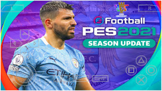 Download PES 2021 PPSSPP Chelito V2 Manchester City Edition Fix call name & Update Full Transfer