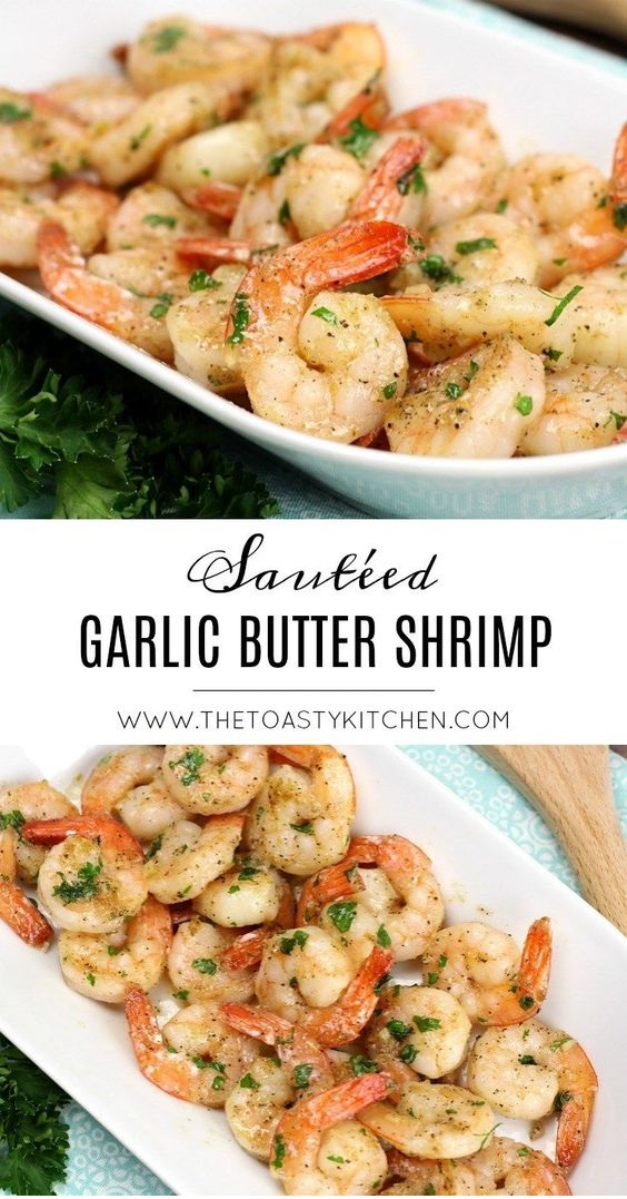 Sautéed Garlic Butter Shrimp