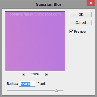 Pengaturan-filter-gaussian-blur-di-Photoshop