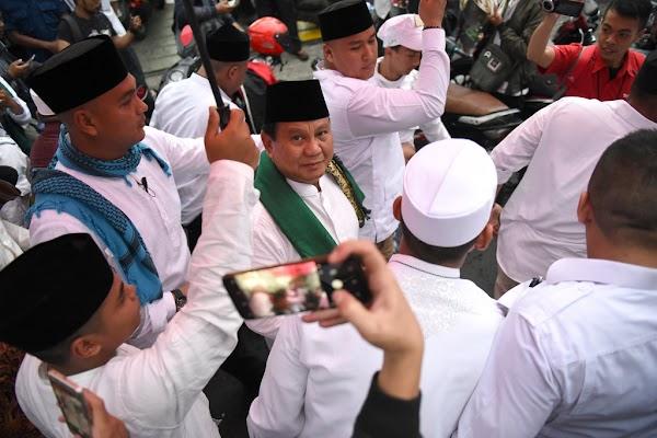 Prabowo: Jika Belum Mampu Berbuat Baik, Lebih Baik Tak Rugikan Orang Lain