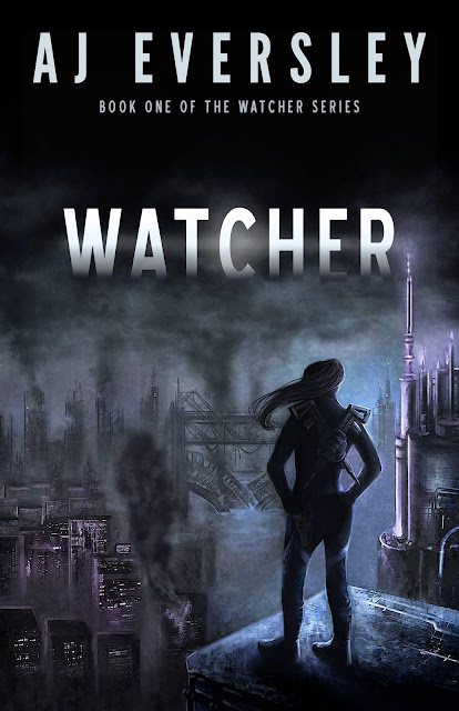 Watcher (Book #1 Watcher Series) by AJ Eversley (Review & Giveaway!)